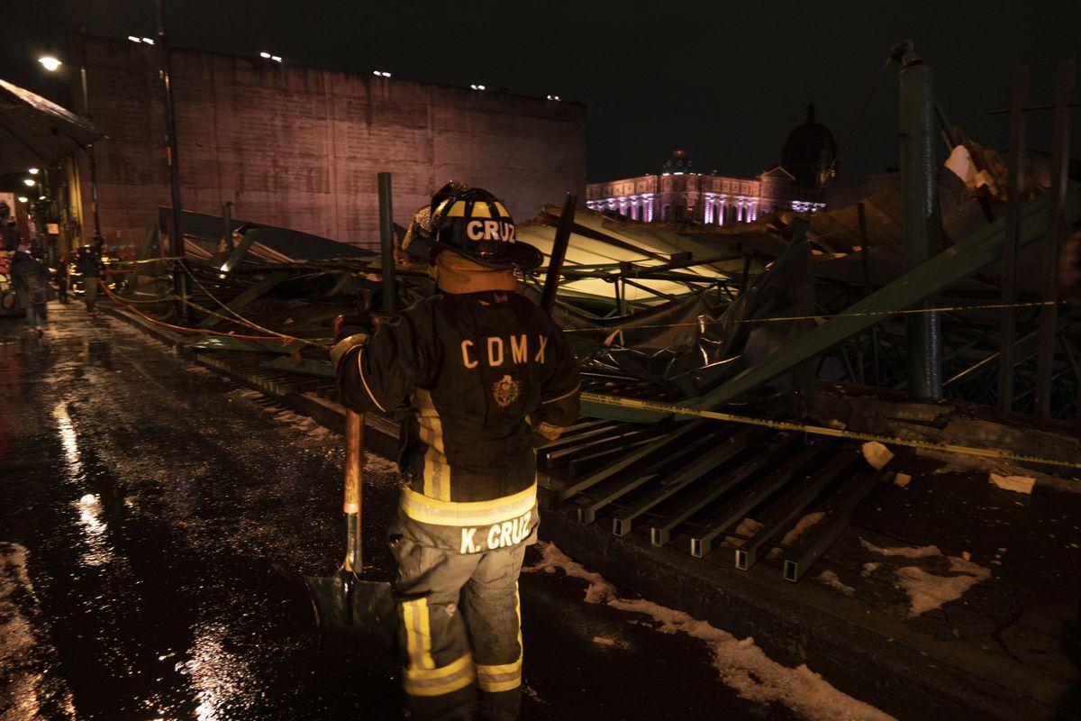 Arqueología: Una tormenta destruye el techo del edificio del templo del alcalde azteca