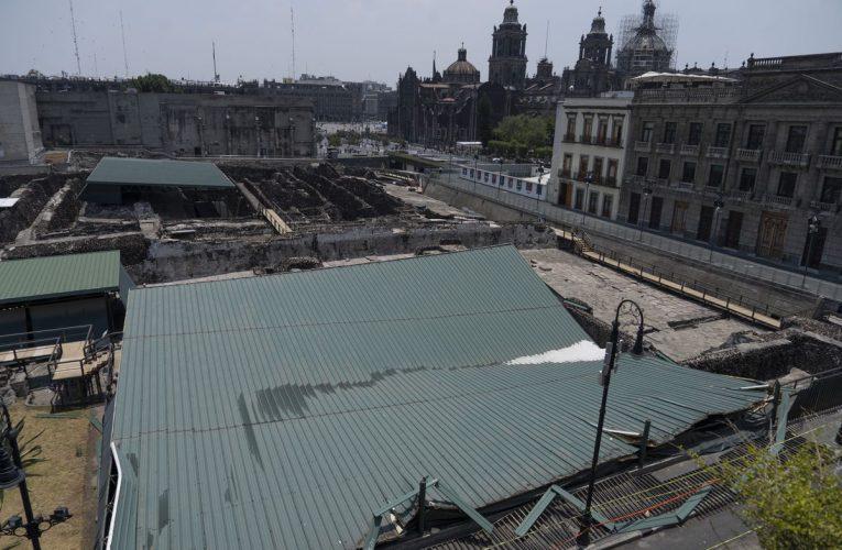 Casa de las Águilas: Arqueólogos temen los otros techos del alcalde del Templo: «El que cubre la pirámide está a punto de derrumbarse»