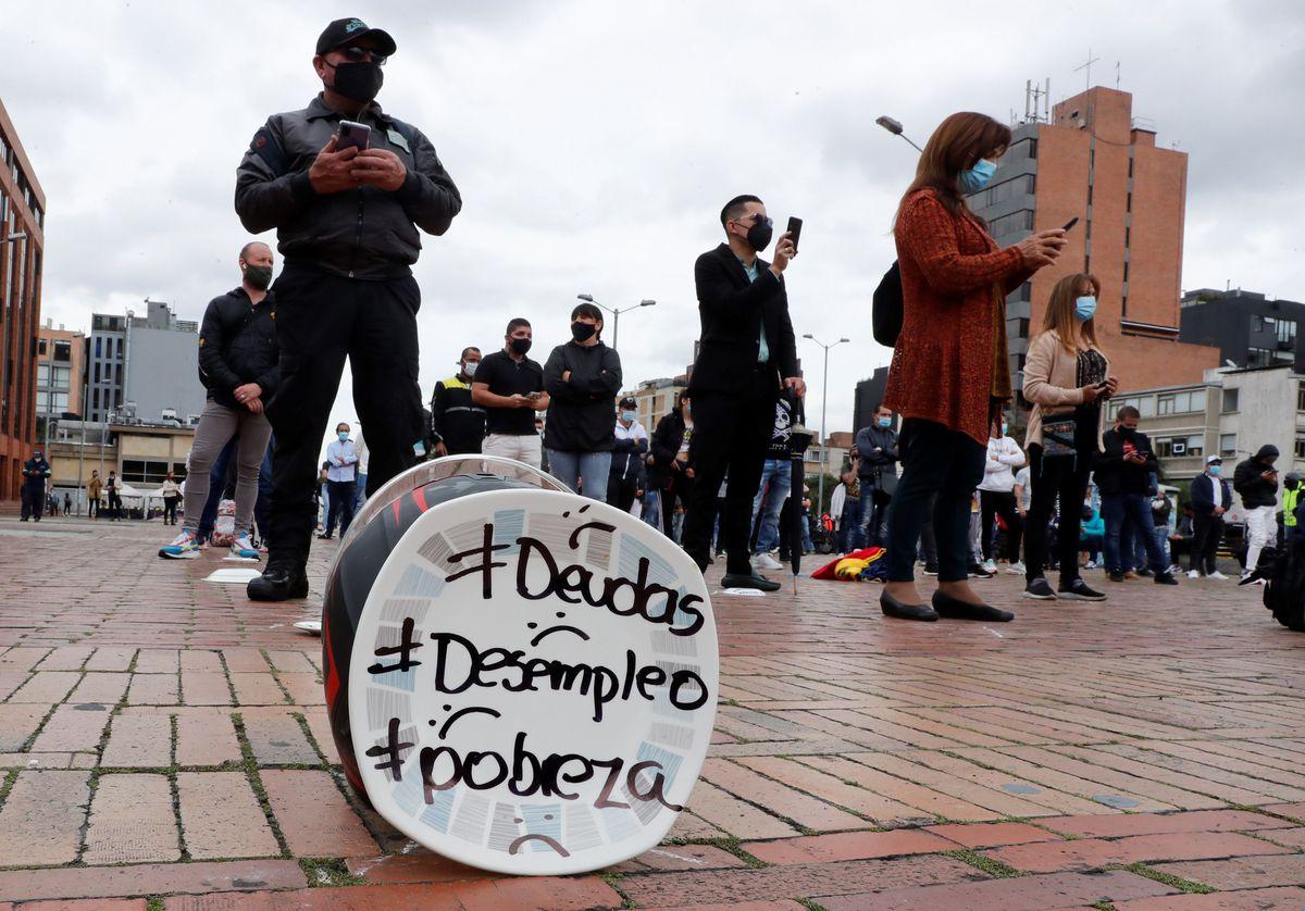 Reforma tributaria: en Colombia se encareció mientras se protestaba  Internacional