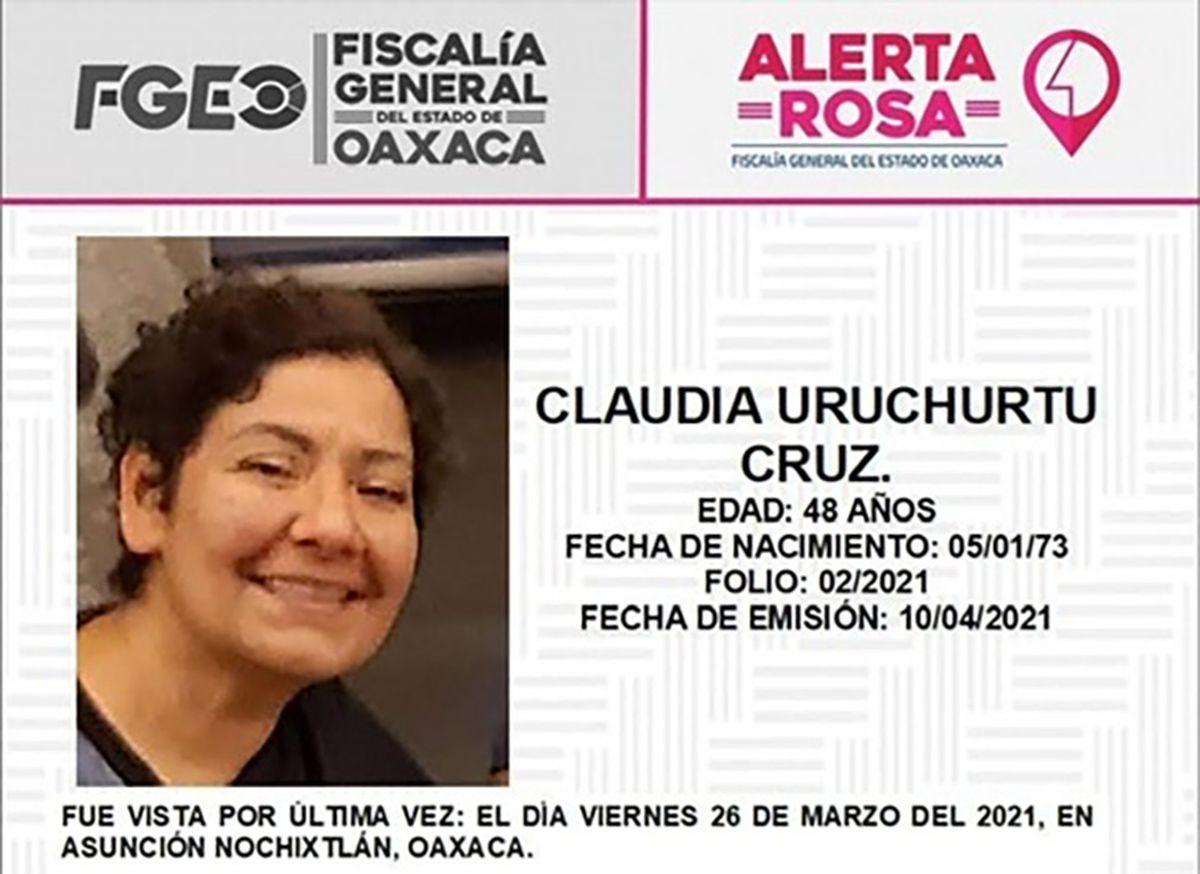 50 días tras las huellas de Claudia Uruchurtu, la desaparición forzada que enfurece a Nochikstlan