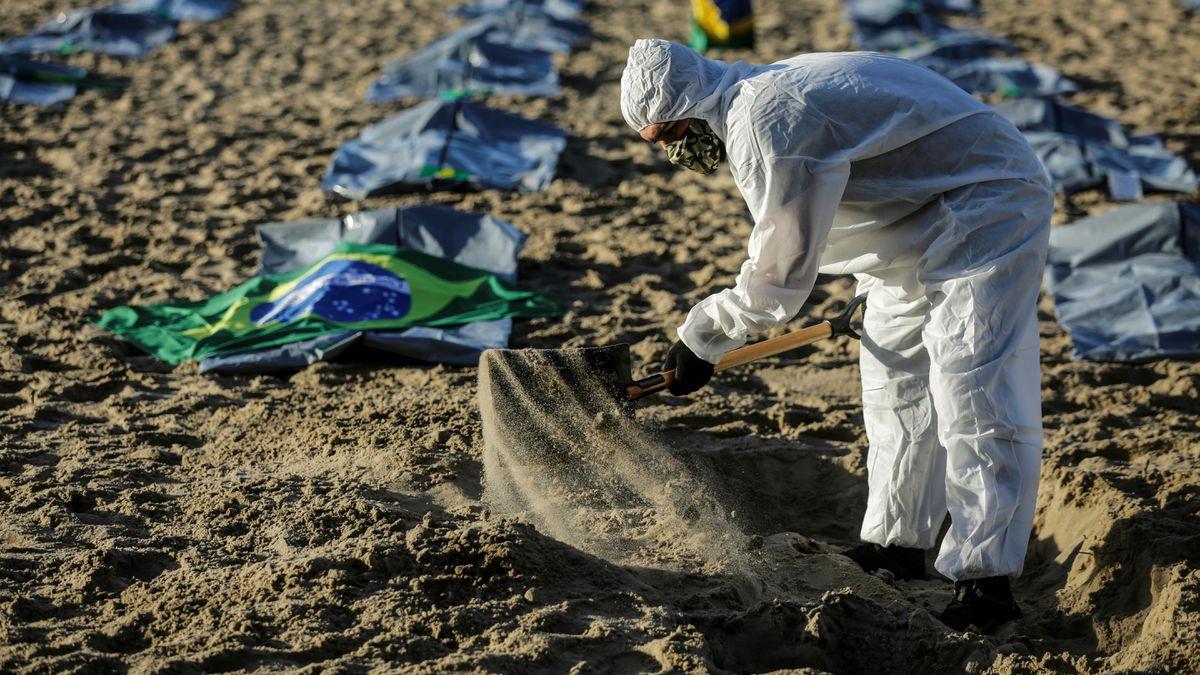 750.000 muertes por coronavirus amenazan a Brasil  Comunidad