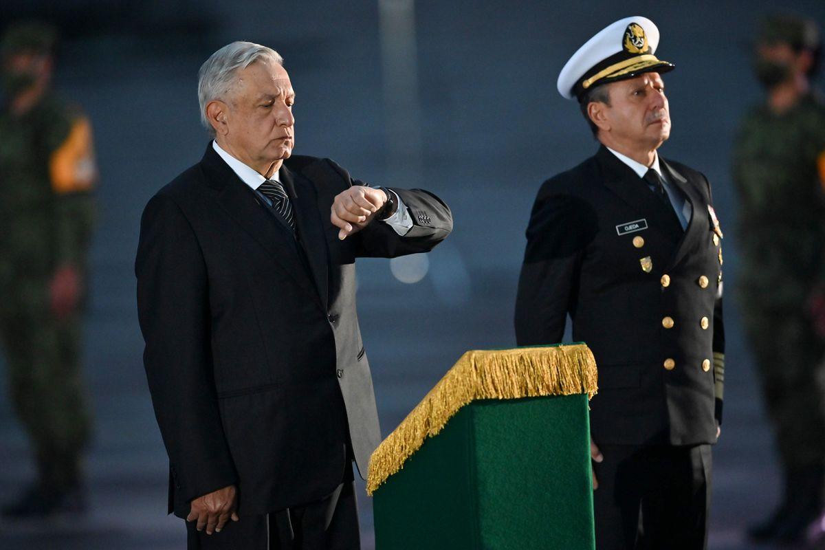 AMLO: Comandante de flota se suma a ofensiva del gobierno mexicano contra el poder judicial |  Elecciones mexicanas 2021
