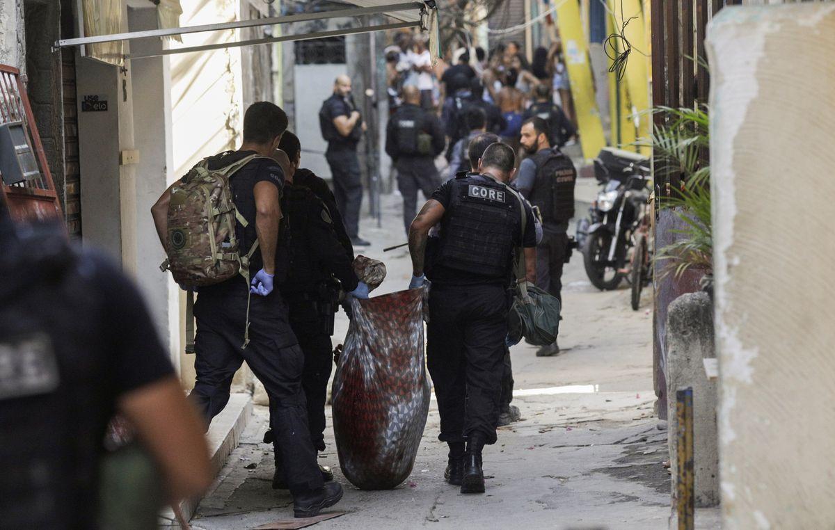 Brasil: Operación policial en una favela de Río de Janeiro deja 25 muertos  Internacional