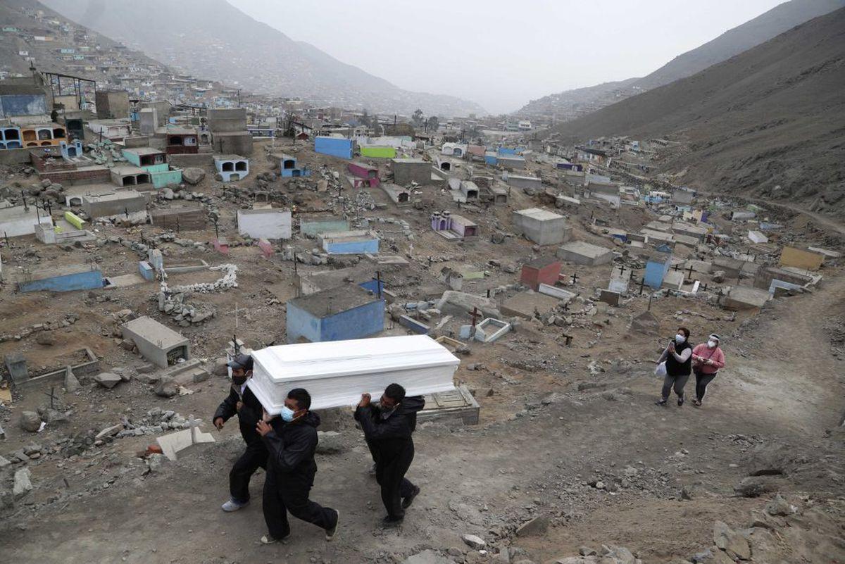 Covid-19: Perú reporta muerte por pandemia  Internacional