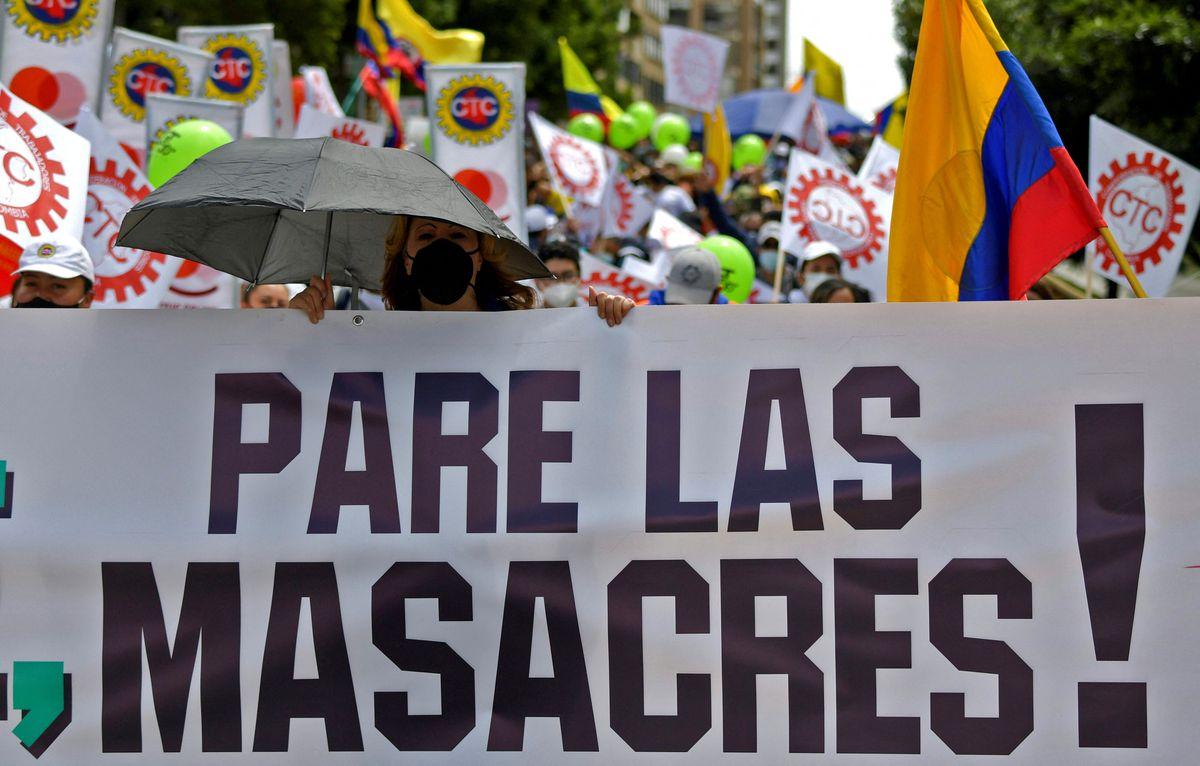 Crisis política: el llamado a negociar de Iván Duque no evita otro día de huelga masiva en Colombia |  Internacional