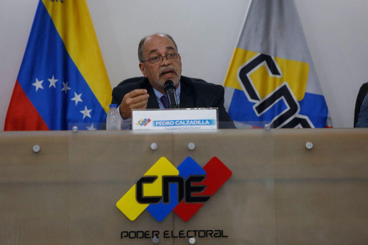 El CNE de Venezuela fija elecciones regionales y locales para el 21 de noviembre  Internacional