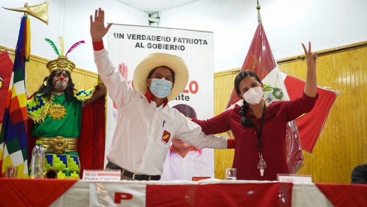 Elecciones: Pedro Castillo modera su discurso en el último tramo de las elecciones presidenciales en Perú |  Internacional