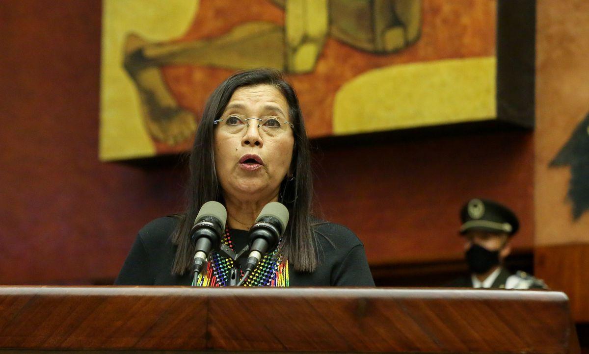 Guadalupe Lori, la mujer indígena amazónica que ostenta el segundo poder estatal en Ecuador |  Internacional