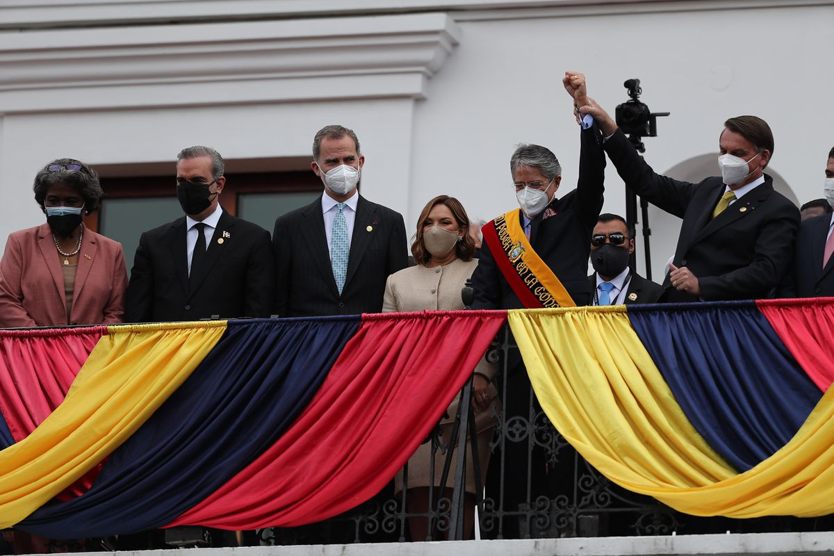 Guillermo Lasso debutó como presidente de Ecuador con un mensaje para cambiar la era  Internacional