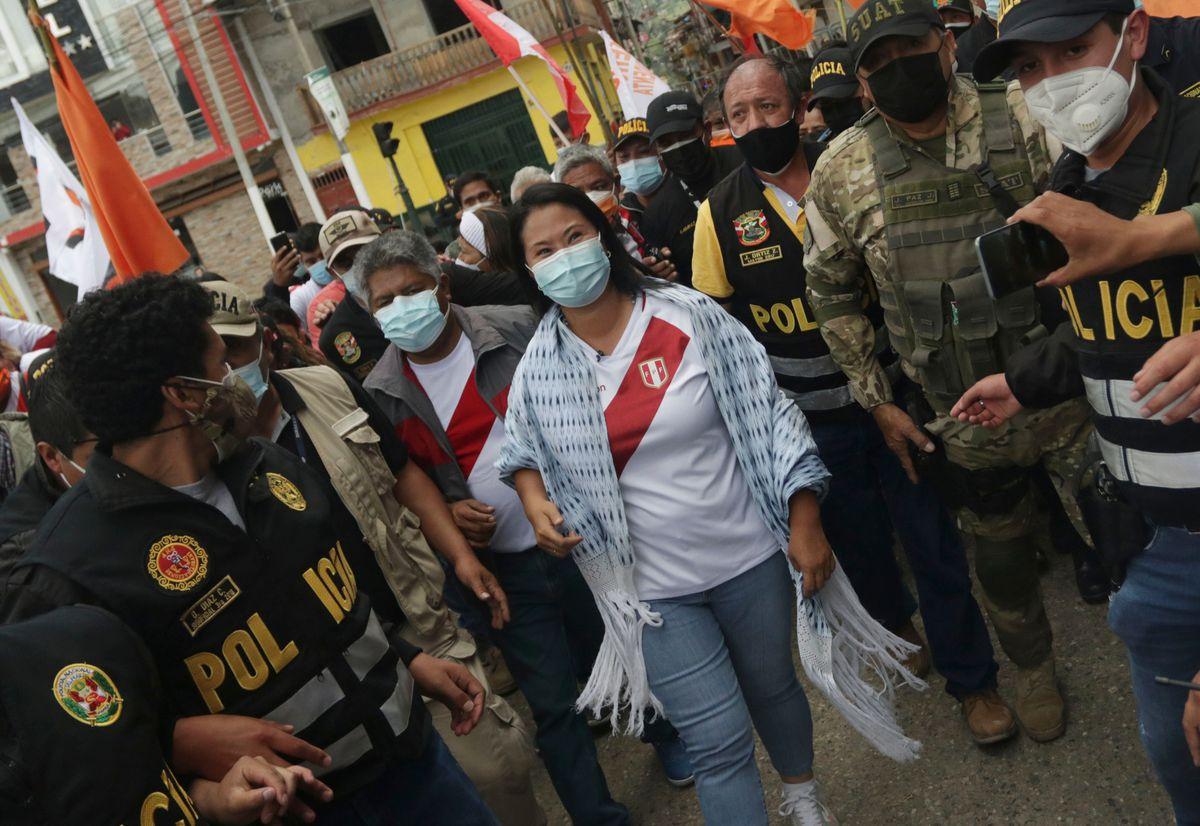 Keiko Fujimori rompe la distancia con Pedro Castillo a un mes de las elecciones en Perú  Internacional
