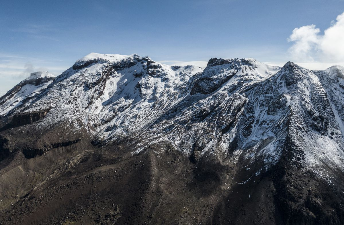 La agonía de los últimos glaciares en México