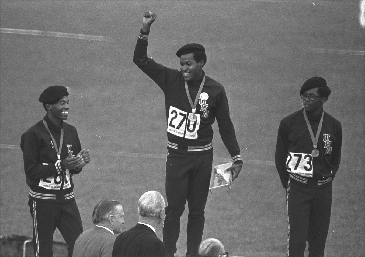 Lee Evans, medallista olímpico que condenó el racismo en Estados Unidos en los Juegos de México de 1968 |  deporte