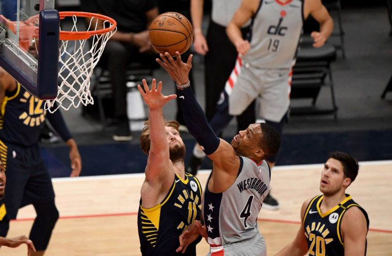 NBA: Washington se engancha a los playoffs con una paliza que deja a Indiana |  deporte
