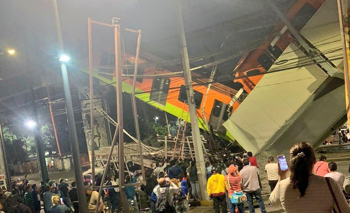 Olivos: Un incidente de la línea 12 del metro en México dejó al menos 50 heridos