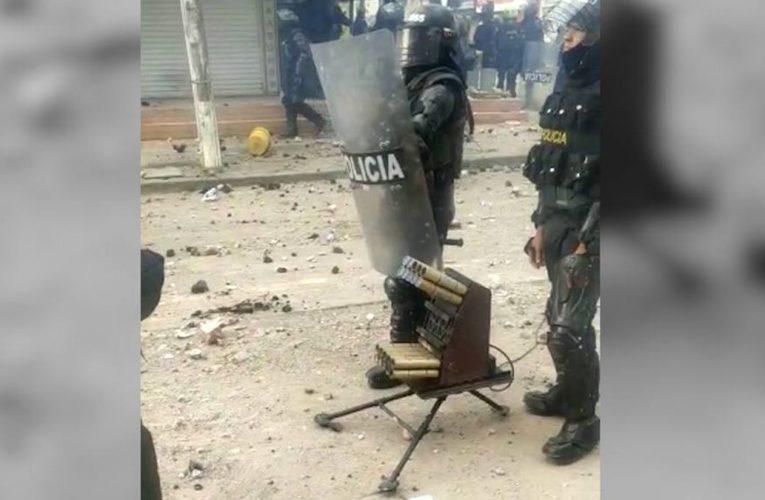 Protestas: Veneno, el arma de la policía antidisturbios controvertida en Colombia  Internacional