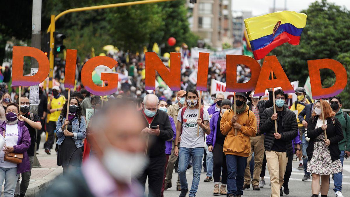 Protestas en Colombia: Pocas protestas mantienen el pulso a Iván Duque  Internacional