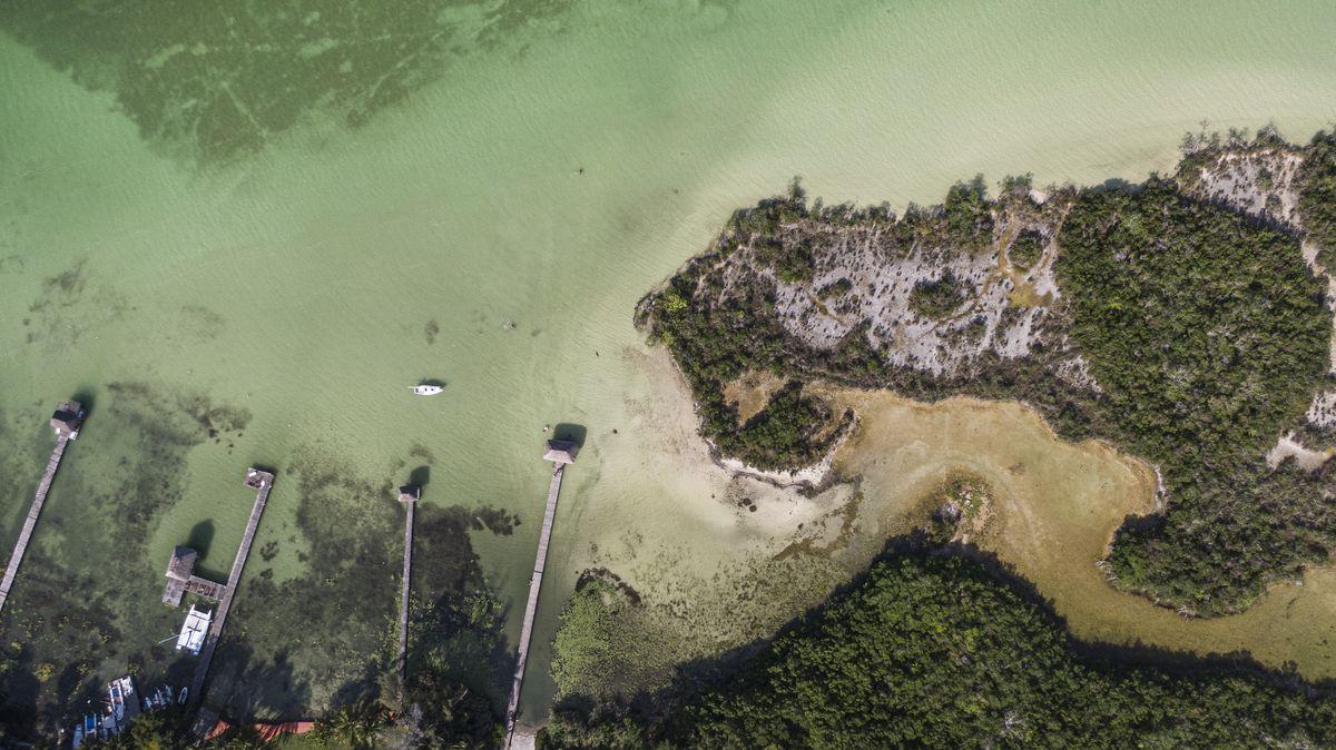 Riviera Maya: Los colores de la Laguna de Bacalar se desvanecen sin proteger el medio ambiente