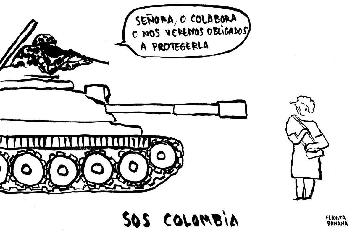 SOS Colombia, de Flavita Banana