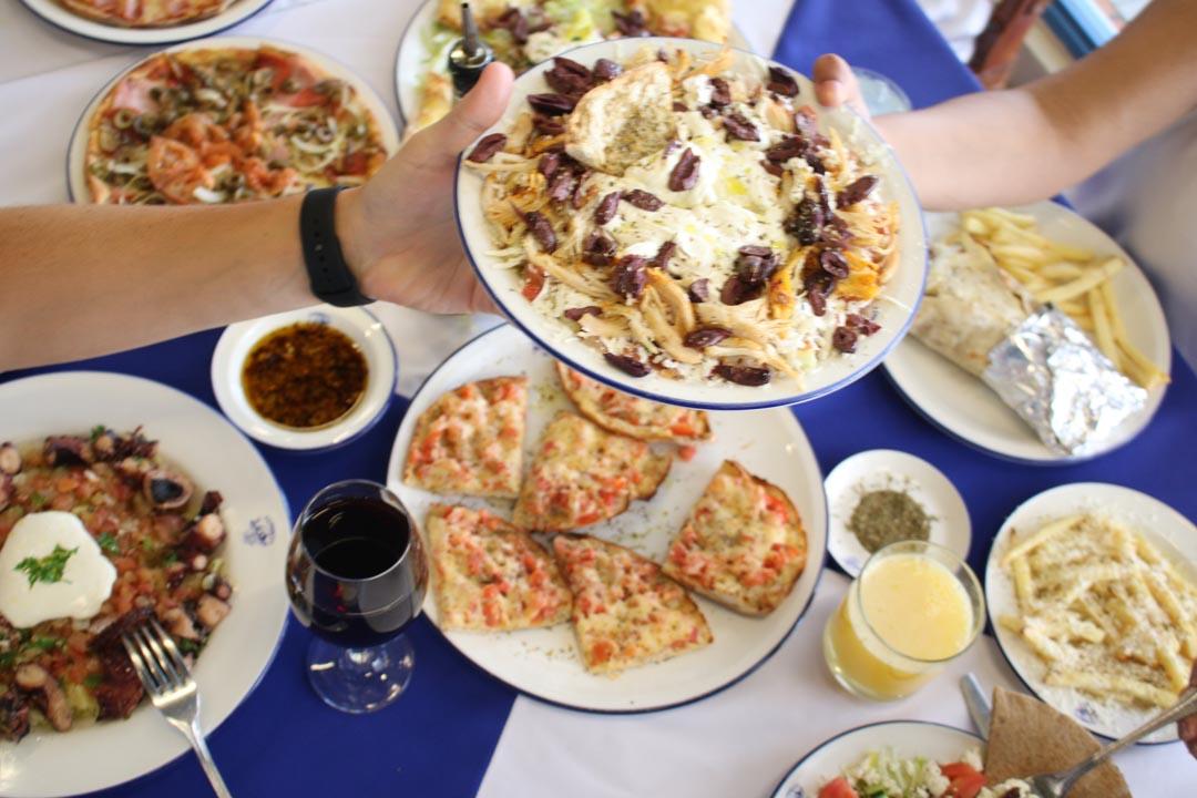 propuesta de athens pizza
