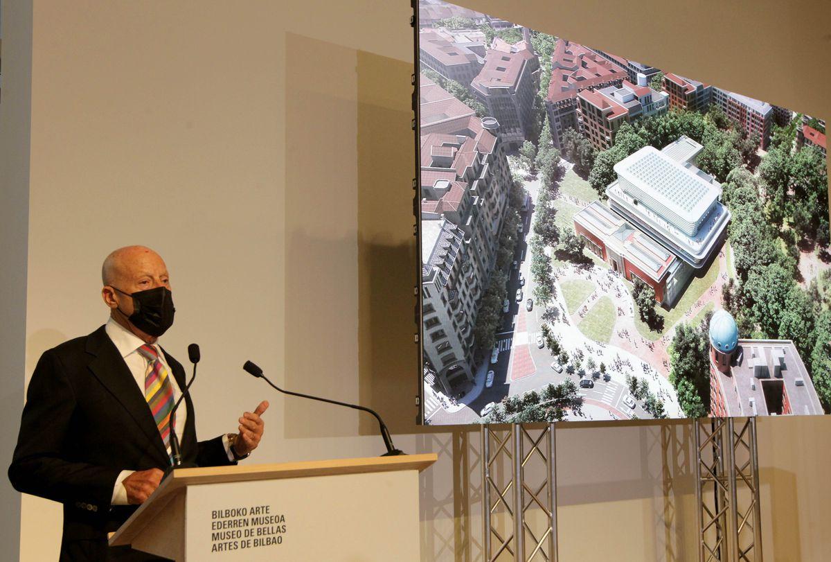 Así será la ampliación del Museo de Bellas Artes de Bilbao  Cultura