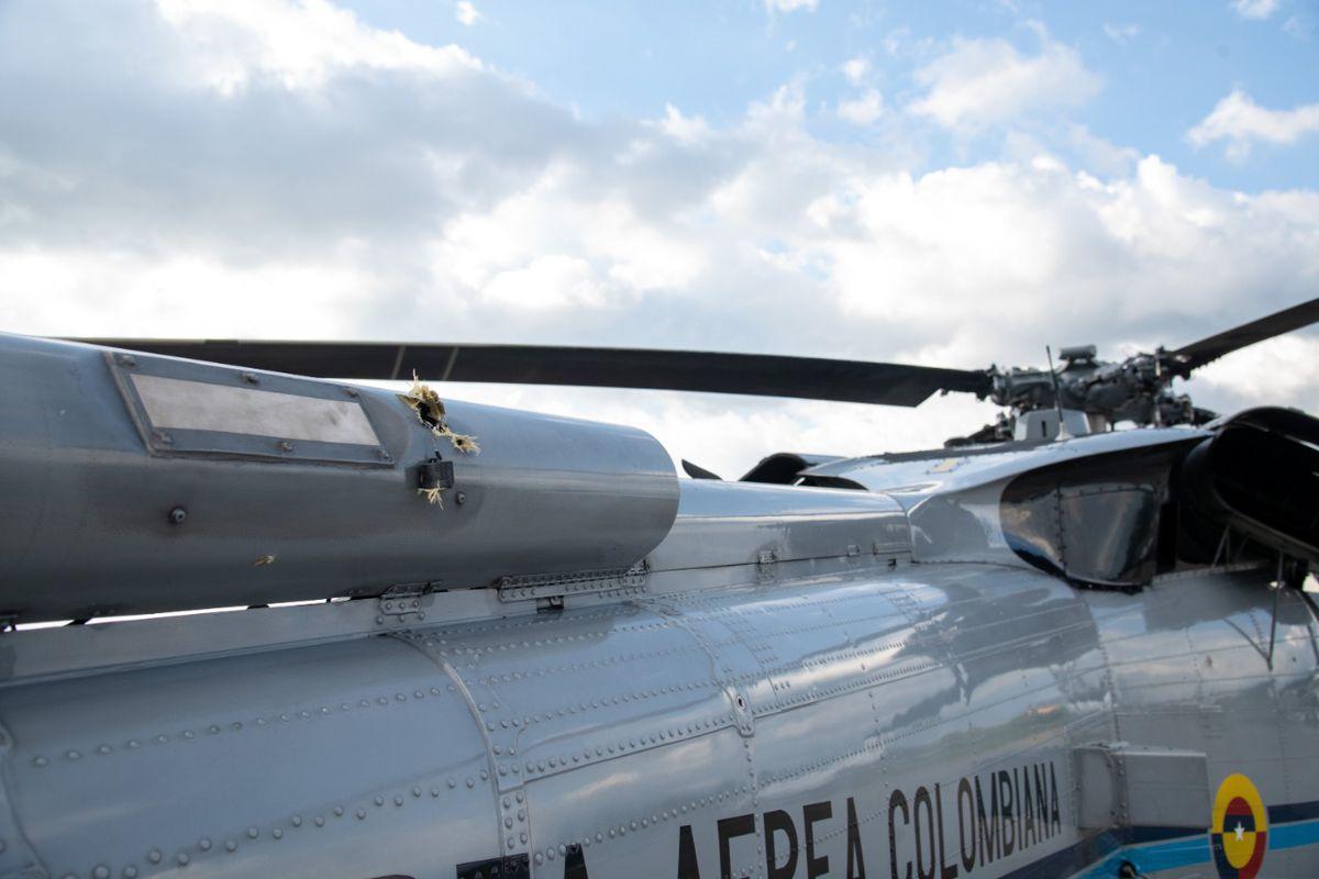 Ataca el helicóptero que transportaba al presidente colombiano Iván Duque  Internacional