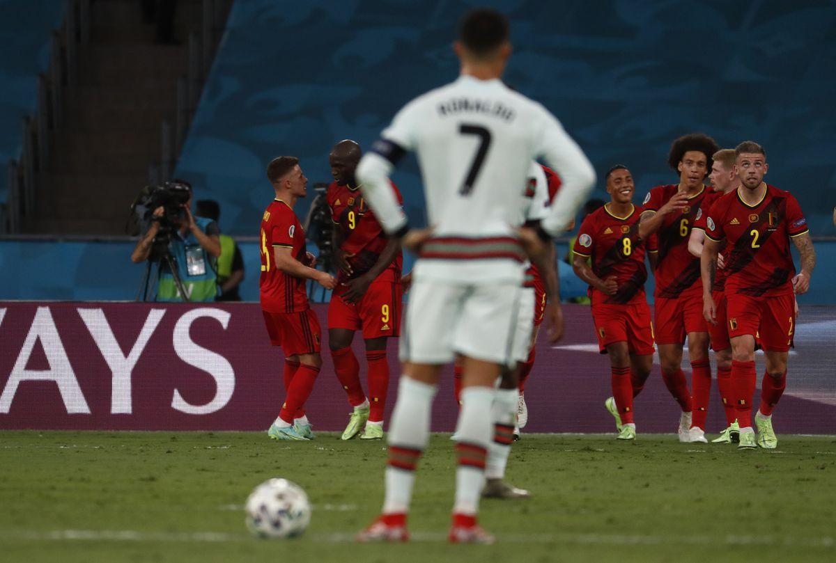 Bélgica derrotó al campeón  Fútbol Eurocup 2021
