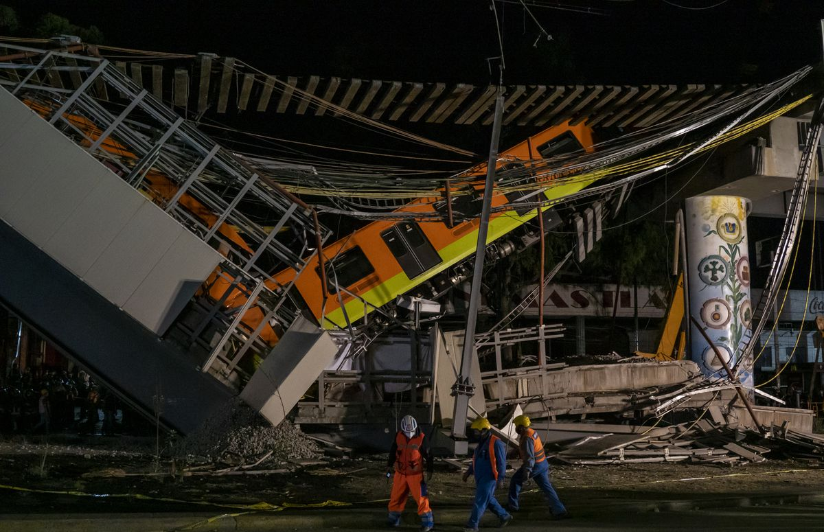 """Colegio de Ingenieros Civiles de México: """"Incidentes como el colapso de la Línea 12 han provocado desconfianza en la gente"""""""