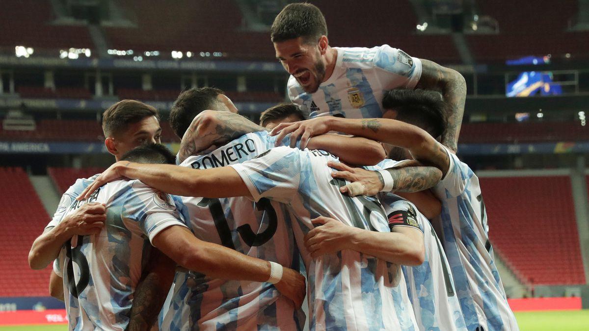 Copa América: Argentina se despierta ante Uruguay  Copa de fútbol americano 2021