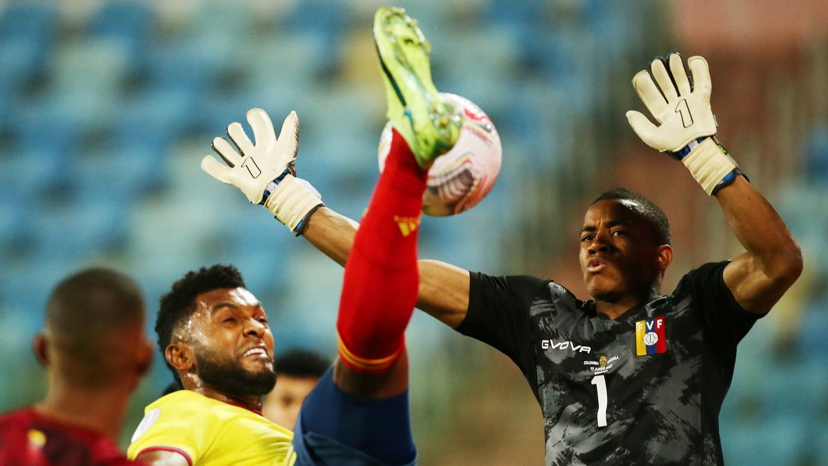 Copa América: Colombia se estrella contra el muro de los Farines contra Venezuela  Copa de fútbol americano 2021