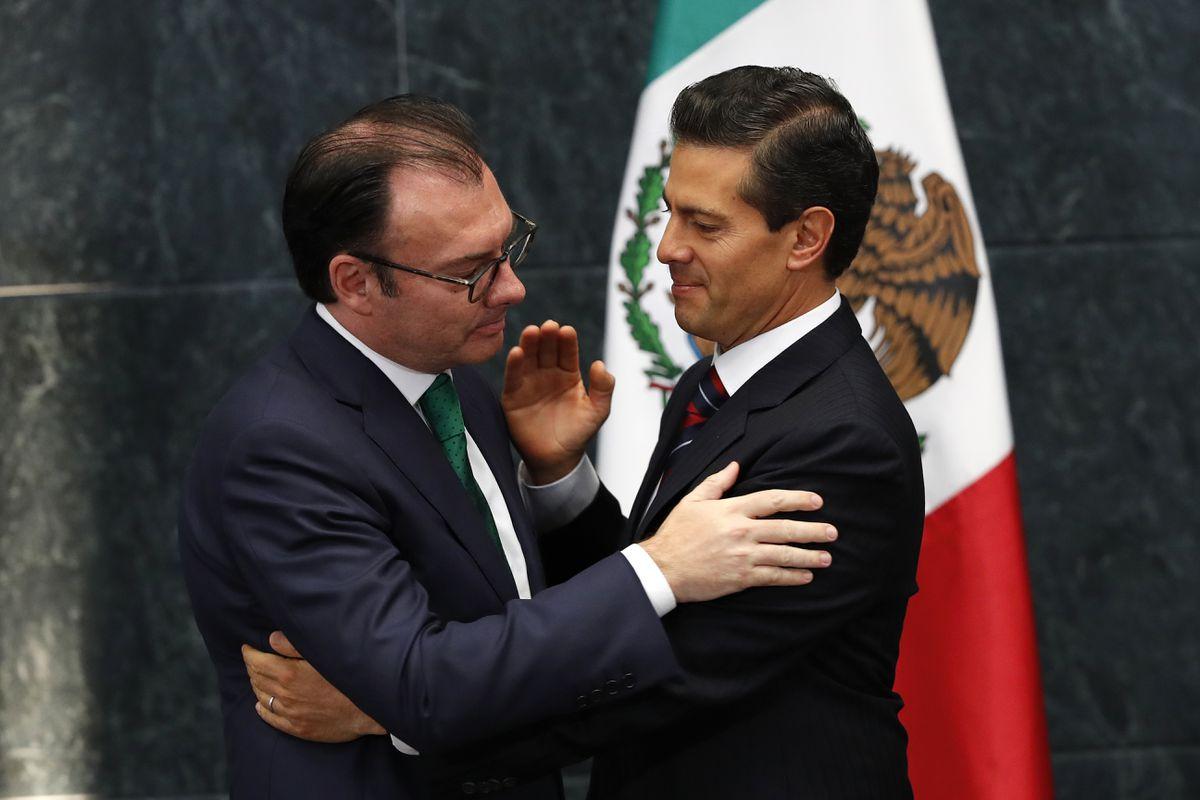 Corrupción: Videgaray, Lozoya, Robles, Peña Nieto ... Se levantan juicios contra el PRI, mientras López Obrador ofrece pactos