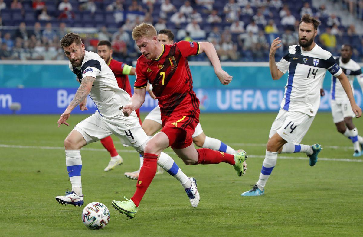 De Bruyne es mi debilidad  Fútbol Eurocup 2021