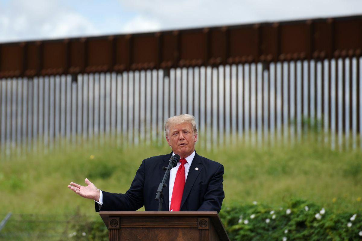 EE.UU .: Donald Trump regresa al muro fronterizo para culpar a Joe Biden por la crisis migratoria    Internacional