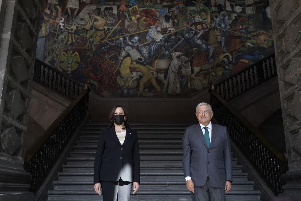 EE.UU .: Kamala Harris y López Obrador prometen mejorar las condiciones en Centroamérica para limitar la migración