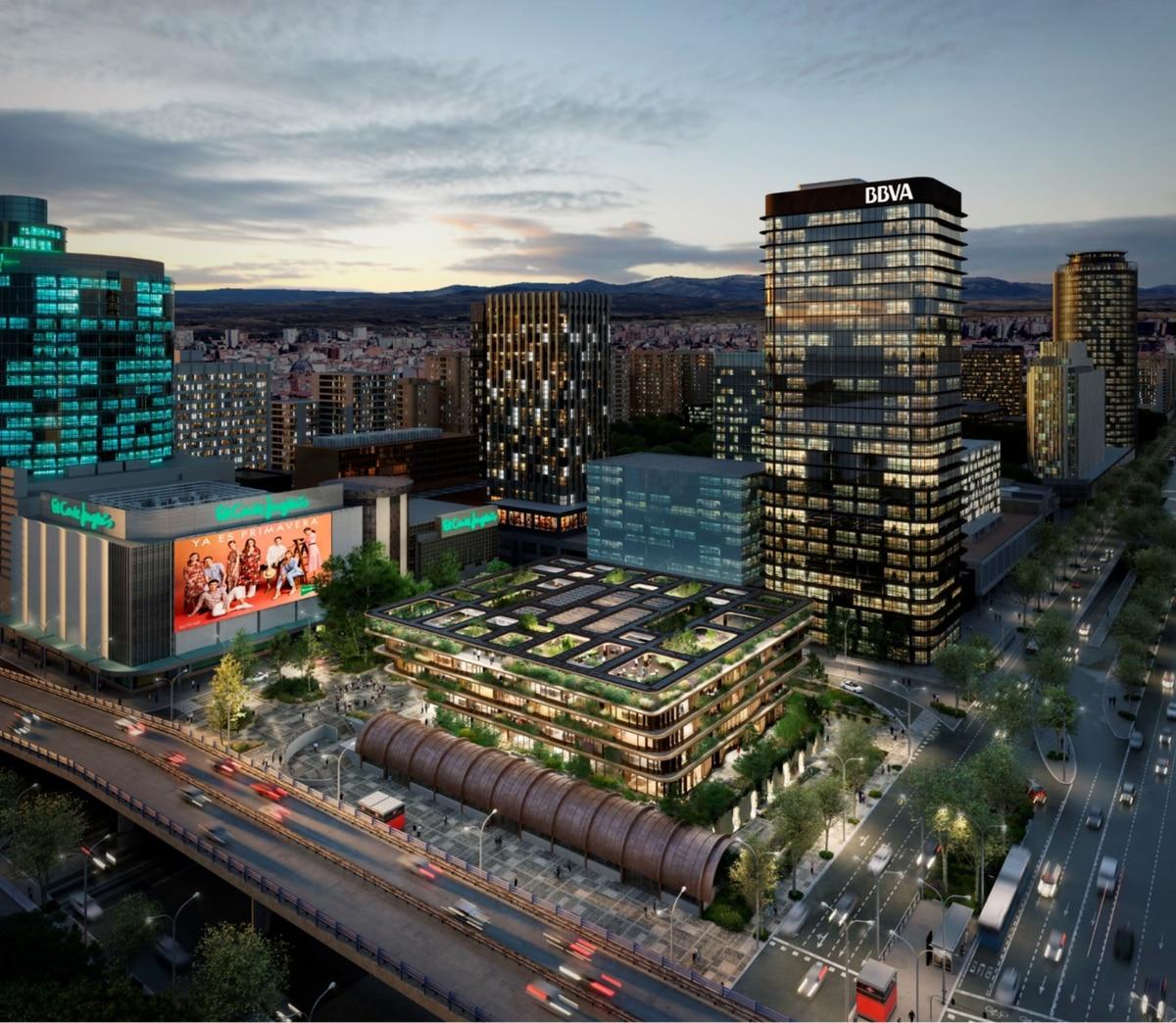 El Corte Inglés construirá un emblemático edificio de oficinas en su solar dorado La Castellana    Ciencias económicas