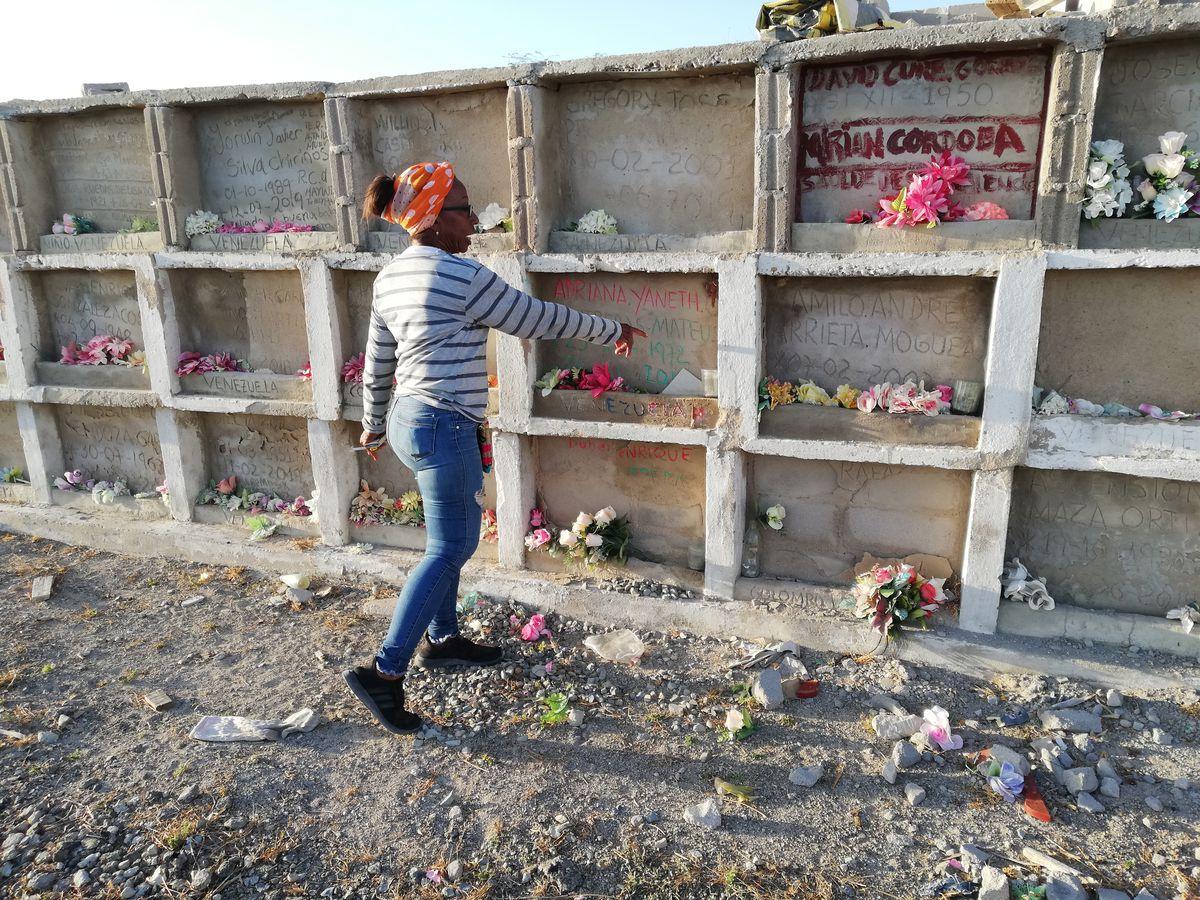 El ángel de los venezolanos asesinados en La Guajira  Que se esta moviendo ...  Planeta del futuro
