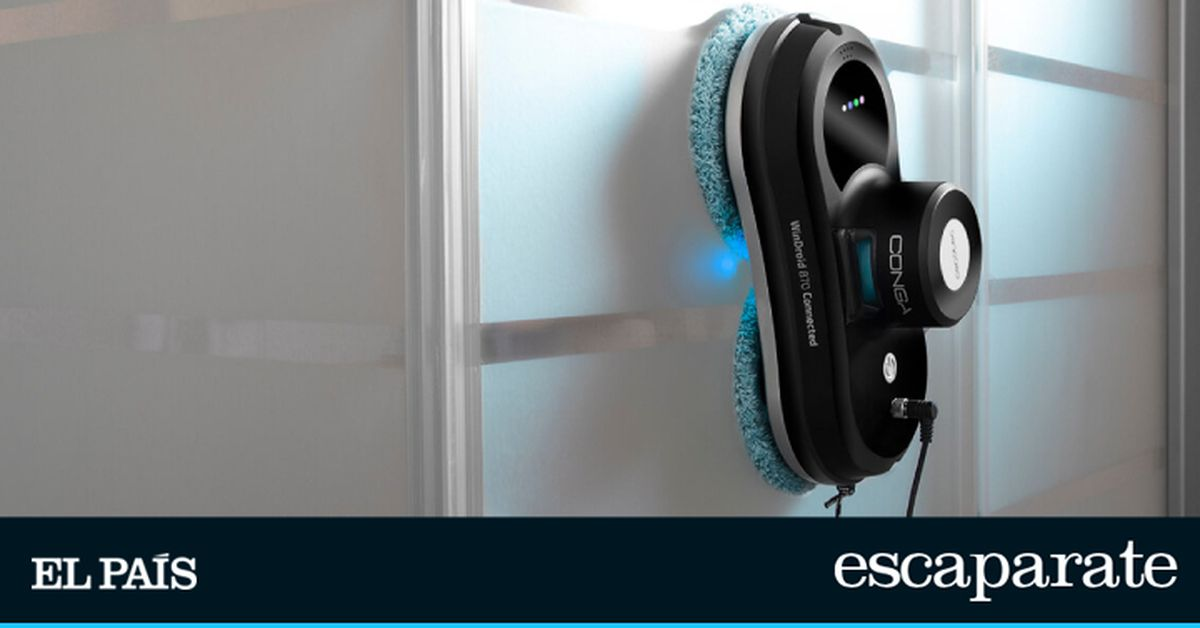 El robot limpiacristales más económico de Cecotec ofrece limpieza todoterreno y control móvil (y tiene un 55% de descuento) |  Escaparate
