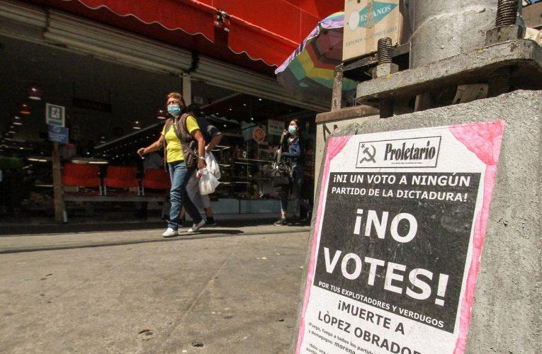 """Elecciones México 6-J: """"Nunca me he sentido representado por políticos"""": la sombra de la abstinencia se cierne sobre las elecciones    Elecciones mexicanas 2021"""