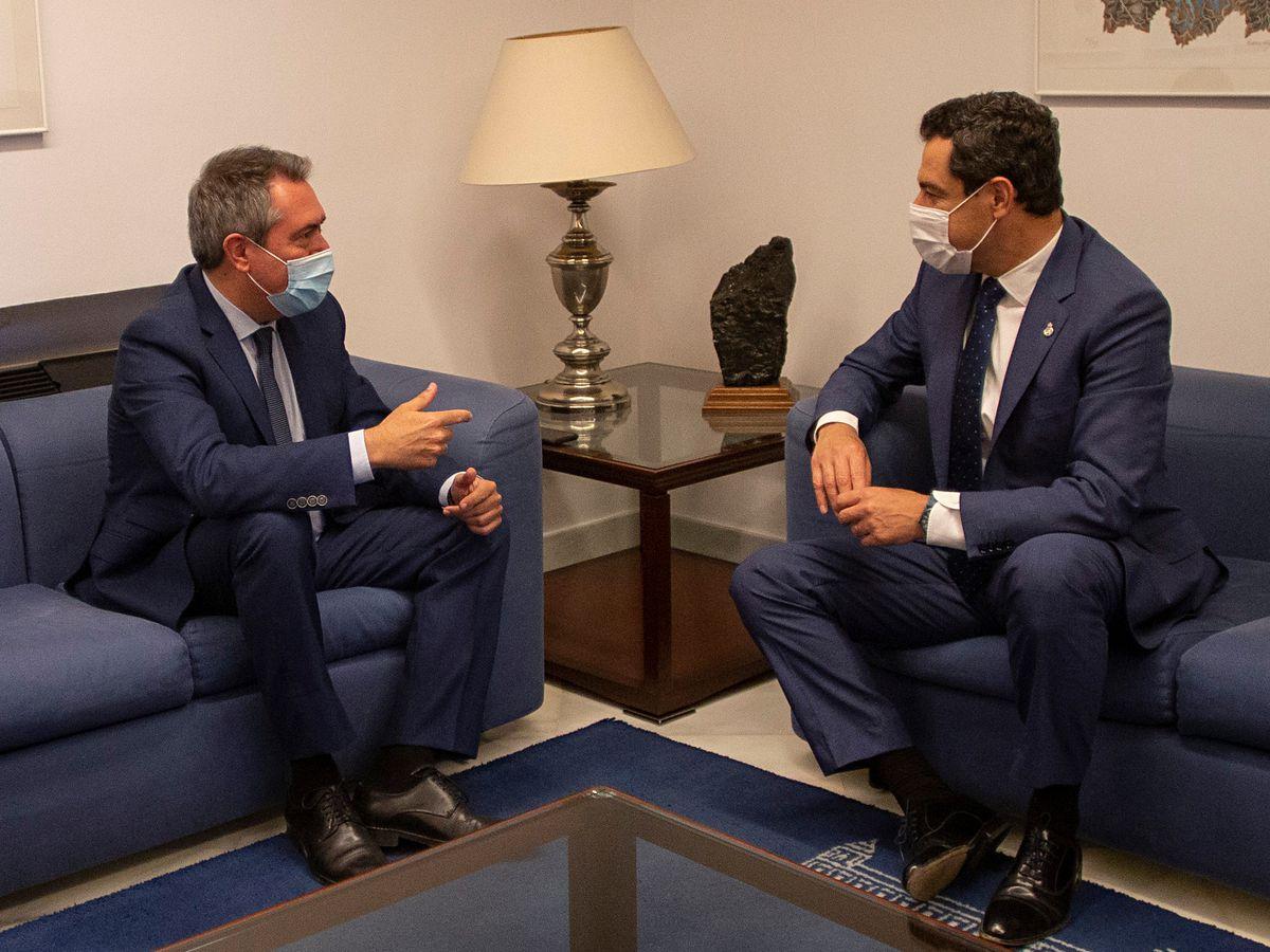 Espadas dice que le pidió a Díaz que no renunciara para evitar un gobernador en el PSOE andaluz |  España