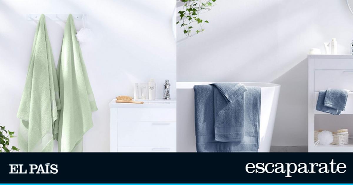 Estilo de vida: Elimina la humedad y la ternura de la piel: este es el juego de toallas, Amazon Basics |  Estilo de vida  Escaparate