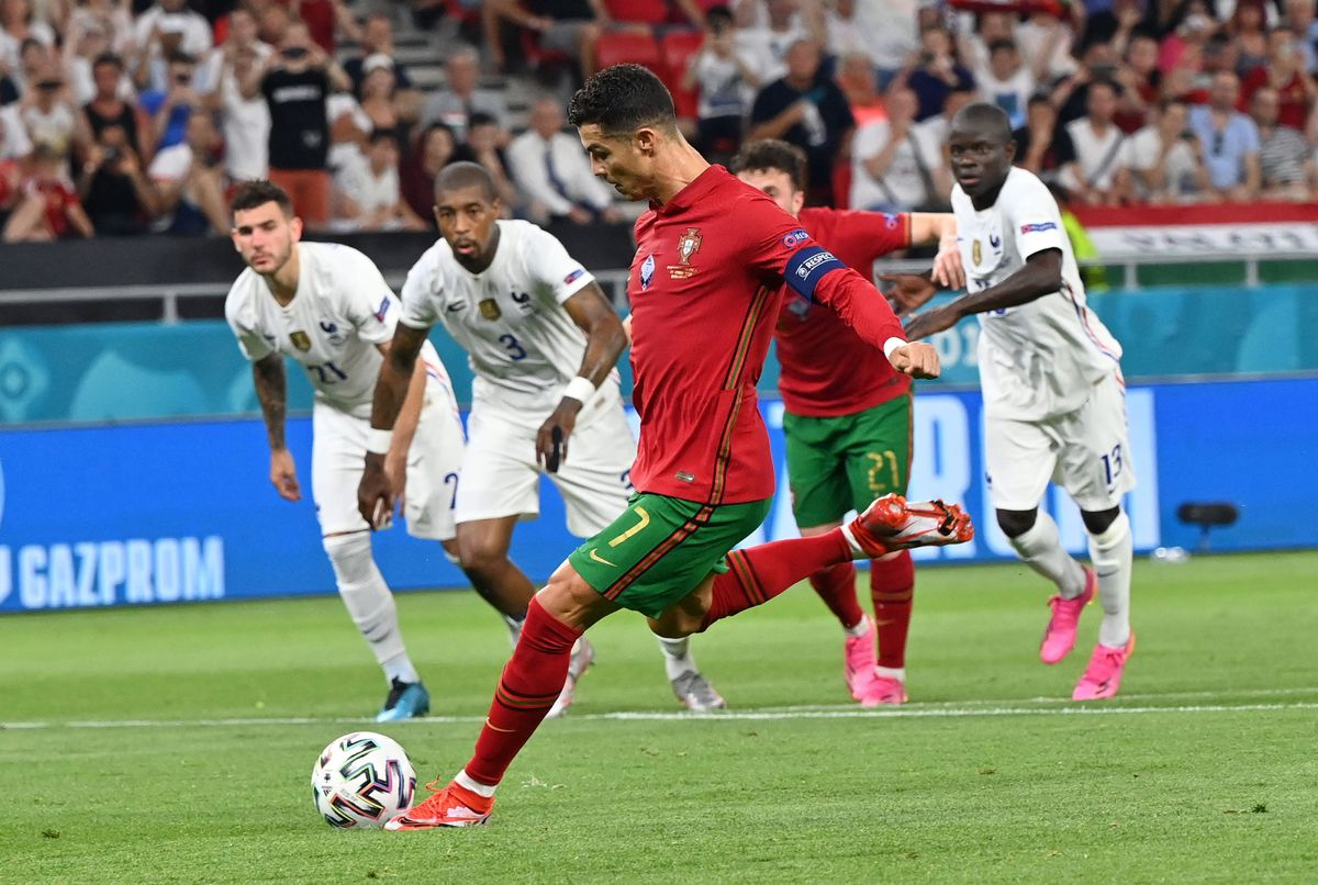 Eurocopa: Benzema habla con Cristiano  Fútbol Eurocup 2021