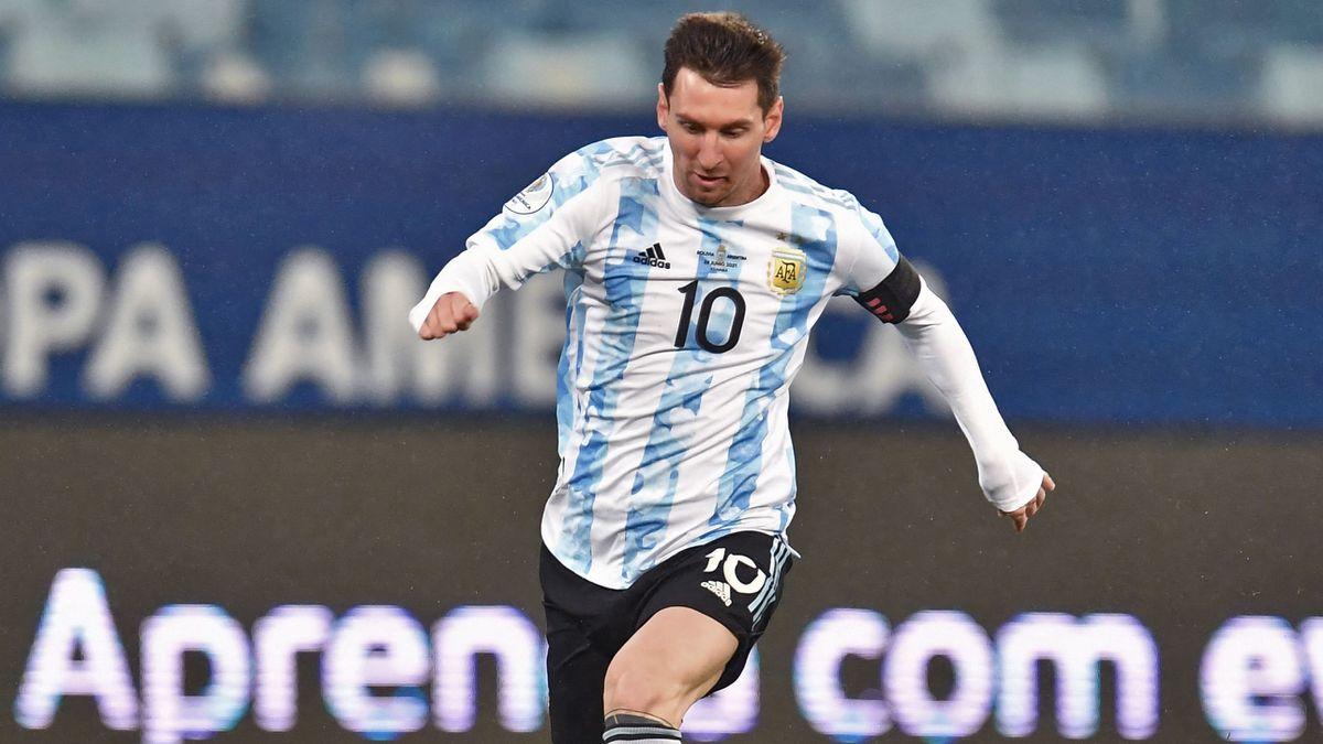 La calma de Messi y la velocidad del Barcelona  Copa de fútbol americano 2021