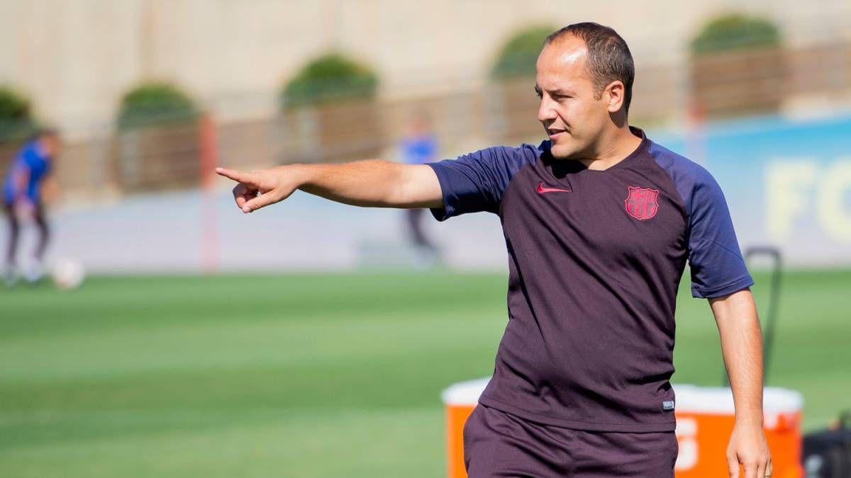 Lluís Cortés, el técnico de alta frecuencia, deja el Barcelona por mujeres  deporte