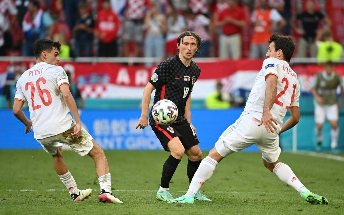 """Modric: """"Los teníamos contra las cuerdas""""  Fútbol Eurocup 2021"""