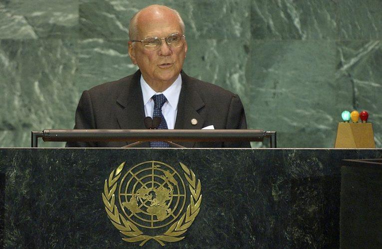 Muere el ex presidente de Nicaragua Enrique Bolaños Geier, abanderado anticorrupción |  Internacional