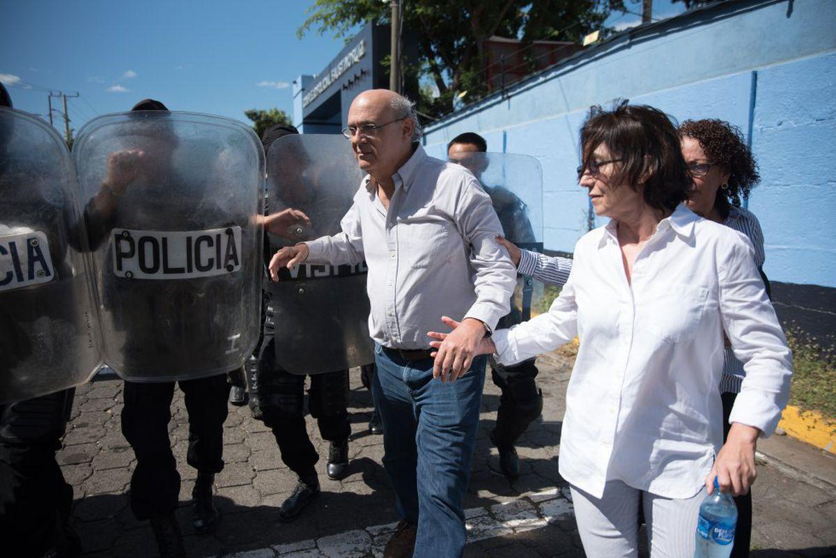 """Nicaragua: Carlos Chamoro desde su exilio en Costa Rica: """"Ortega quiere rehenes para negociar""""    Internacional"""