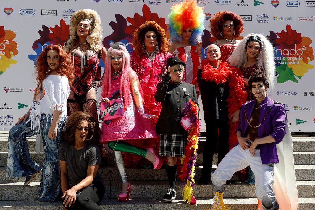 Orgullo que confirma el coraje de las travestis y travestis  Madrid