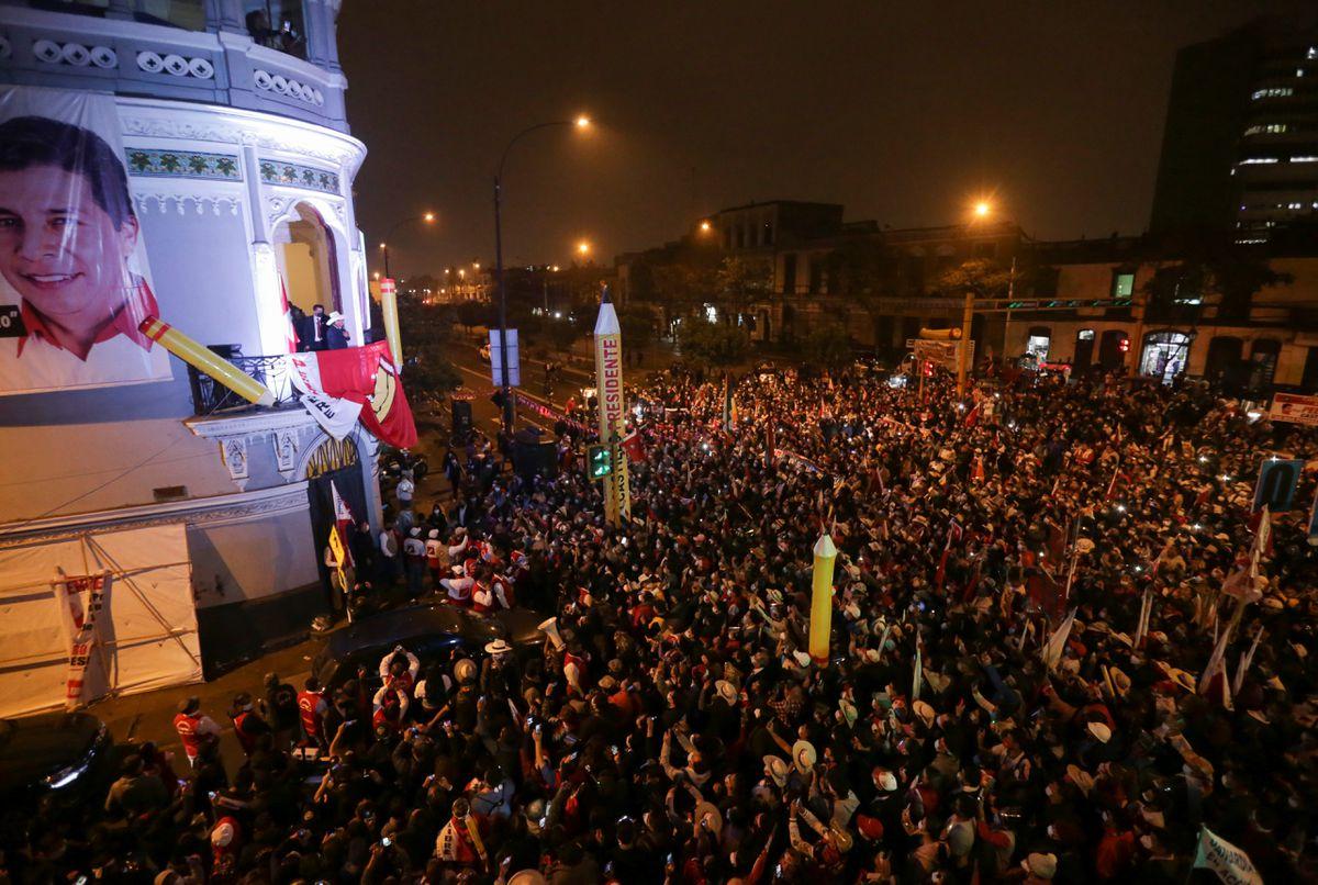 Resultados electorales: Pedro Castillo gana en Perú, pero apelación de Fujimori retrasa anuncio |  Internacional