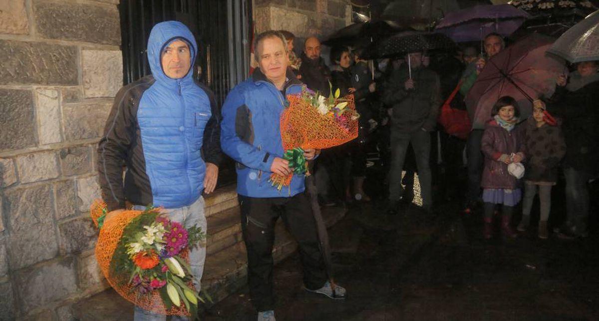 Saes de Egilaz y Pipe: dos detenidos históricamente por ETA para homenajear a los presos de la banda terrorista |  España