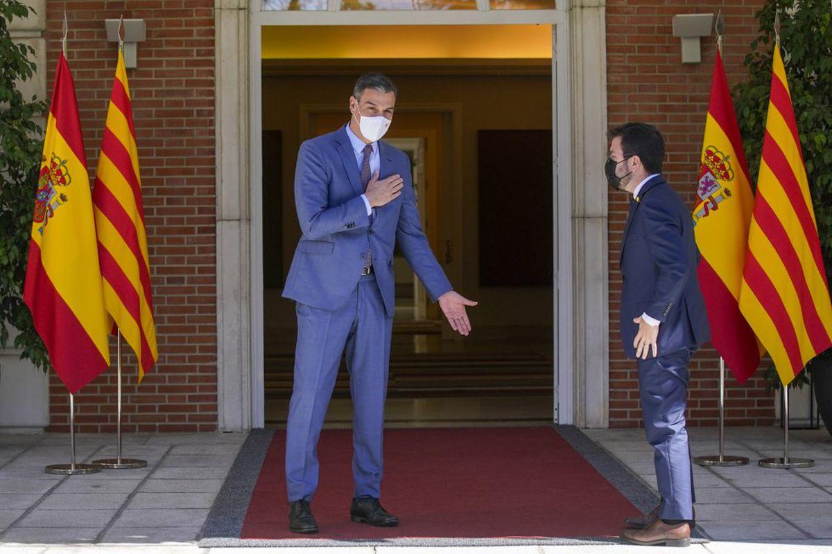 Sánchez y Aragonés acuerdan reanudar la mesa de diálogo en septiembre en Barcelona    Cataluña