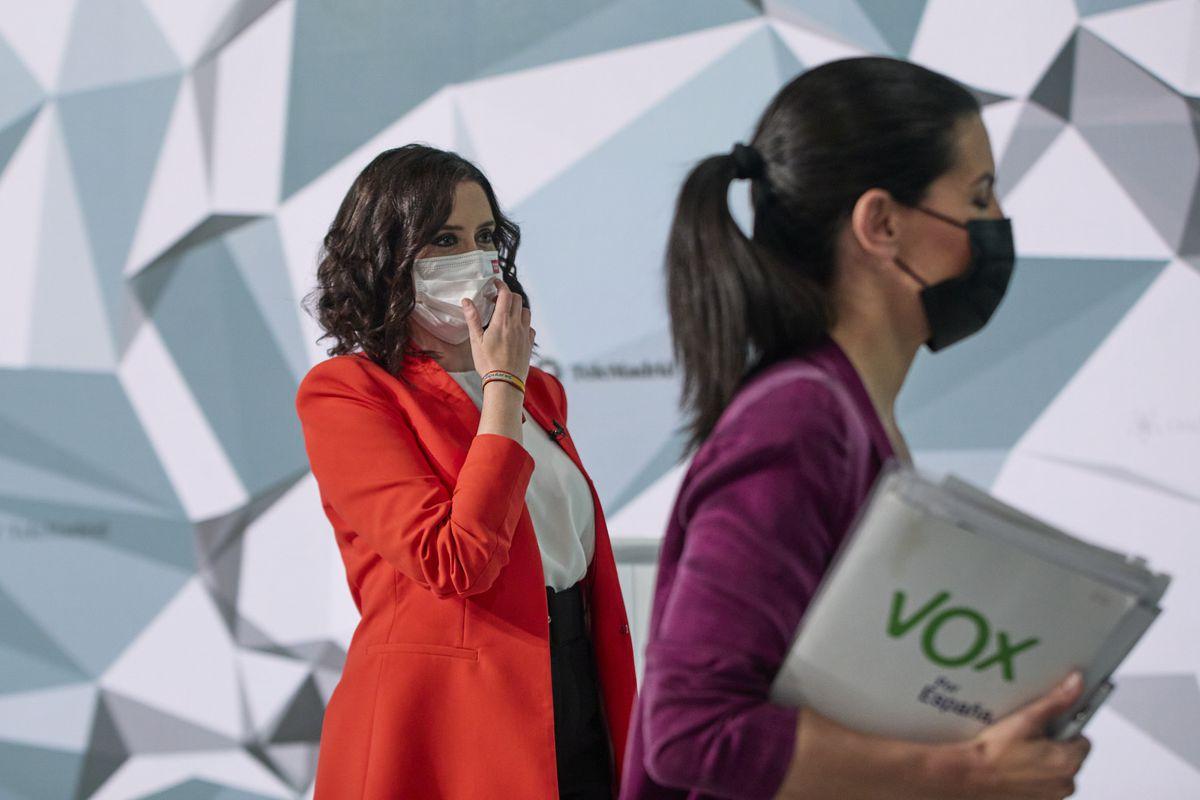 Vox deja en el aire la ley del PP de Ayuso para controlar Telemadrid  Madrid